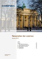 cosinex Newsletter 01/2013