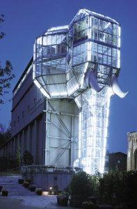 Glaselefant Maximilianpark