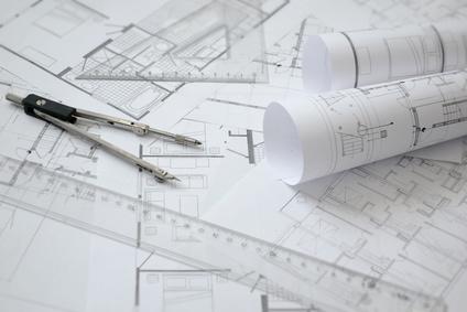 Bauplan, Architekturskizze