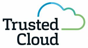 Logo der Trusted Cloud Initiative des BMWi