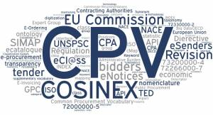 Word Cloud CPV Code