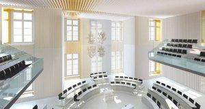 Foto des Landtags des Landes Mecklenburg-Vorpommern