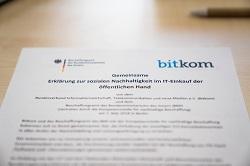 Gemeinsame Verpflichtungserklärung des Bescha und des Bitkom