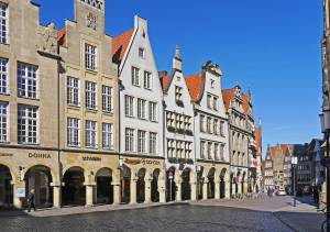 Prinzipalmarkt in der Stadt Münster