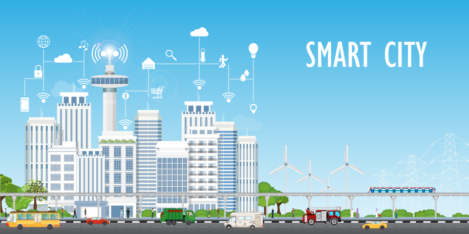 Die Smart City vereint digitale Bürgerservices mit Nachhaltigkeit