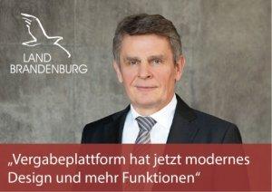 CIO des Landes Brandenburg zu vergabe.Brandenburg