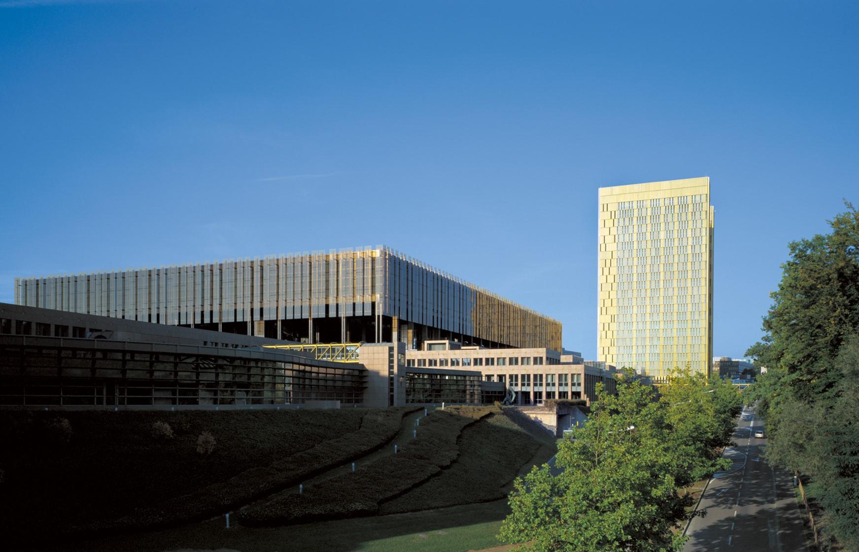 Der Europäiosche Gerichtshof (EuGH) mit Sitz in Luxemburg
