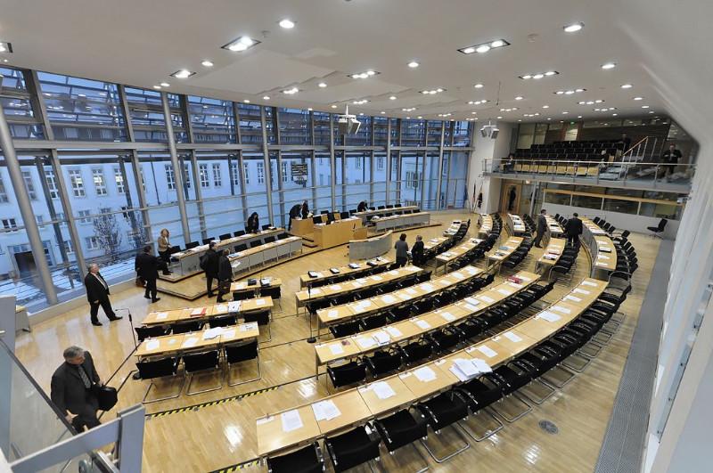 Der sachsen-anhaltinische Landtag